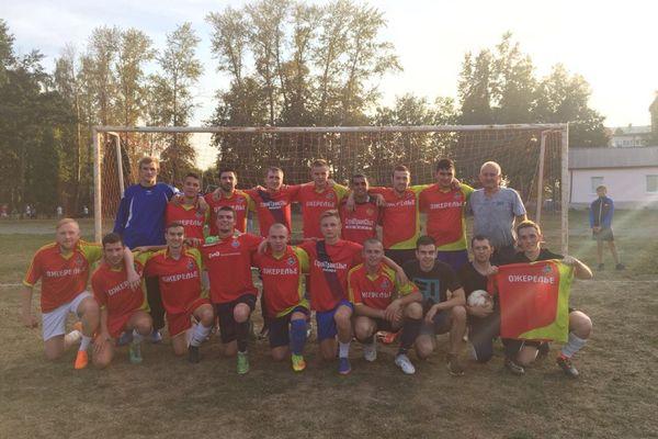 Чемпионат Венёвского района выиграло «Ожерелье»