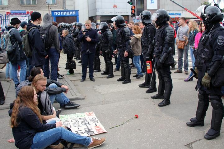 Новосибирский студент получил повестку в суд за митинг 9 сентября