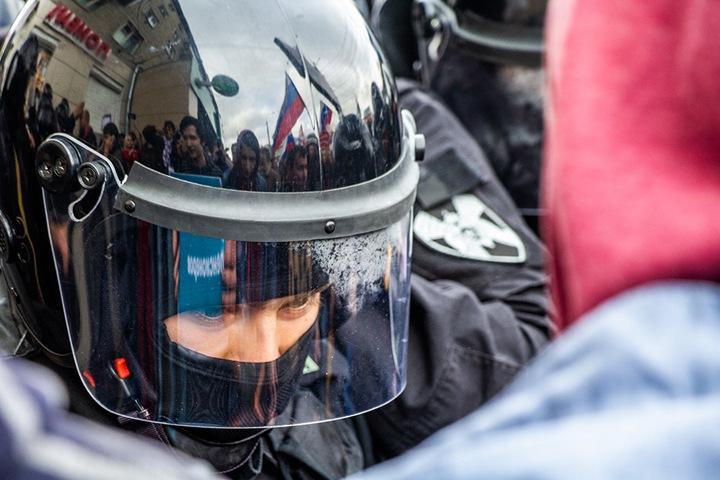 Хроника протеста в Новосибирске (ВИДЕО)