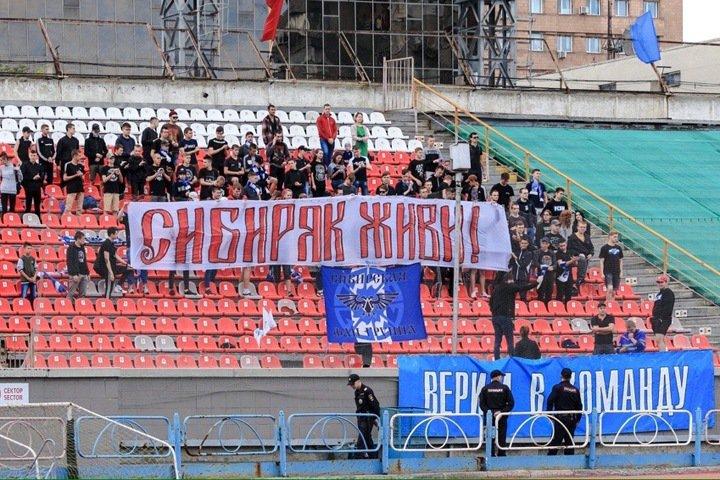 Мини-футбольный «Сибиряк» допустили к чемпионату ограниченным составом