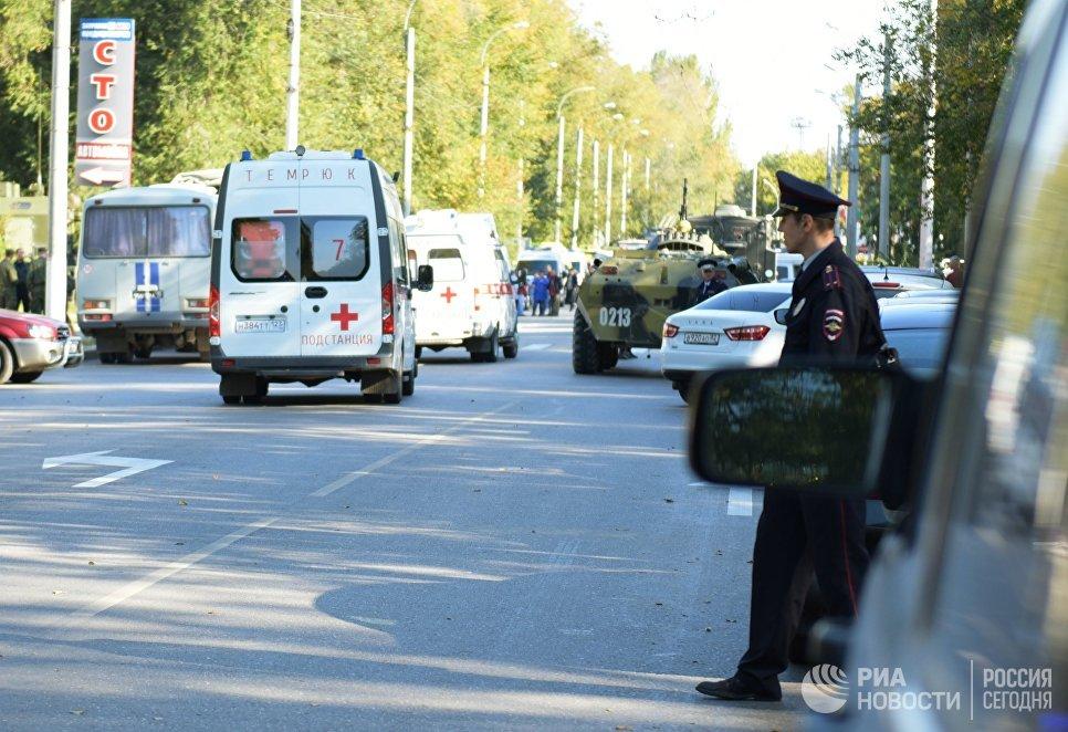 В больницах после трагедии в Керчи остаются 44 человека