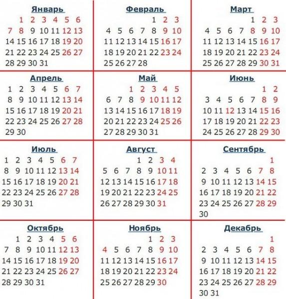 Как отдыхаем на новый год 2019: выходные дни на январские праздники