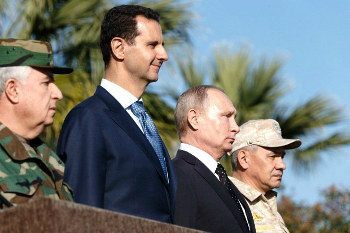 «Сирийский проект – защита наших пенсий»: новосибирские единороссы отметили день рождения Путина