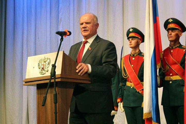 Зюганов потребовал от Путина остановить «беспредел» в Хакасии: «Они играют с большим огнем»