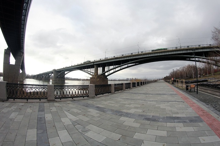 Набережная Новосибирска подорожала на 10 млн