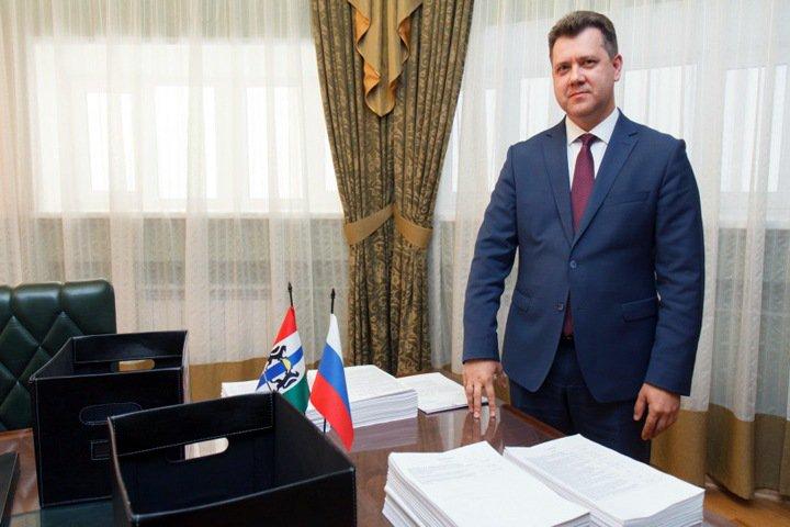 Новосибирское правительство внесло бюджет в заксобрание