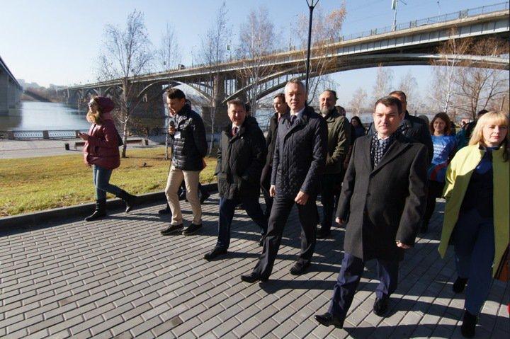Новая набережная появится на левом берегу Оби в Новосибирске