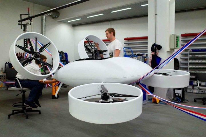 Российские инженеры собрали прототип летающего такси. Его хотят вывести на рынок уже в 2020 году
