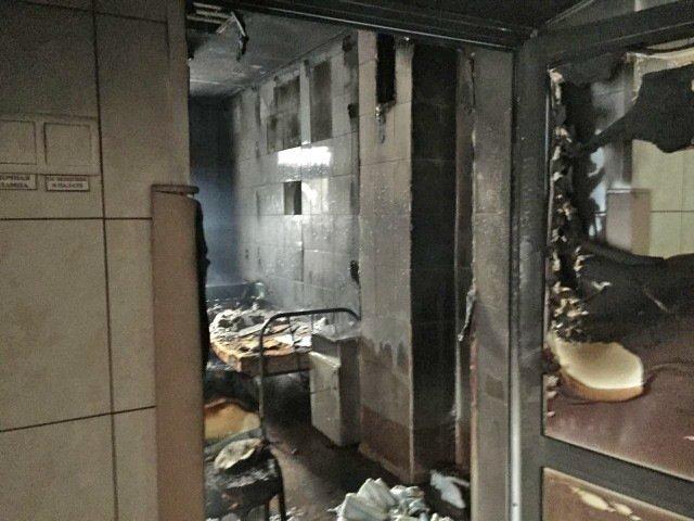 Пожар в новосибирской больнице унес жизнь пациента