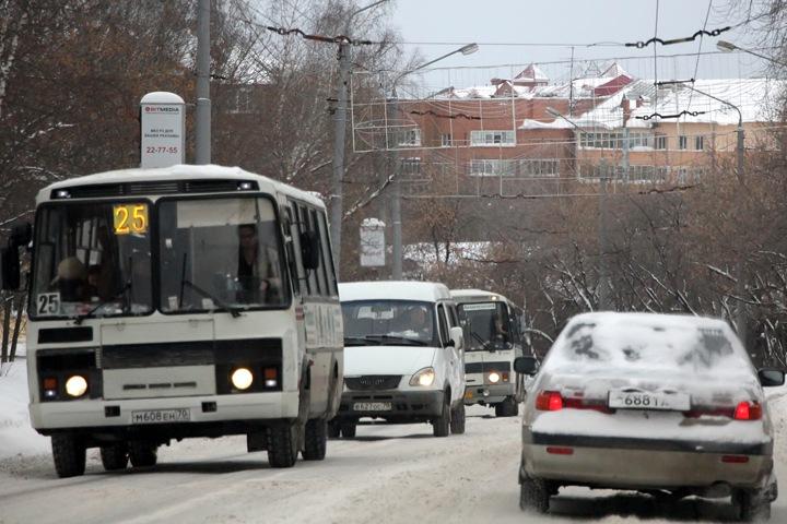 Проезд в транспорте Томска подорожает на четверть