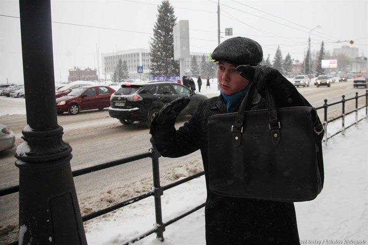 Томский школьник попросил губернатора исправить ошибки благоустройства в центре города