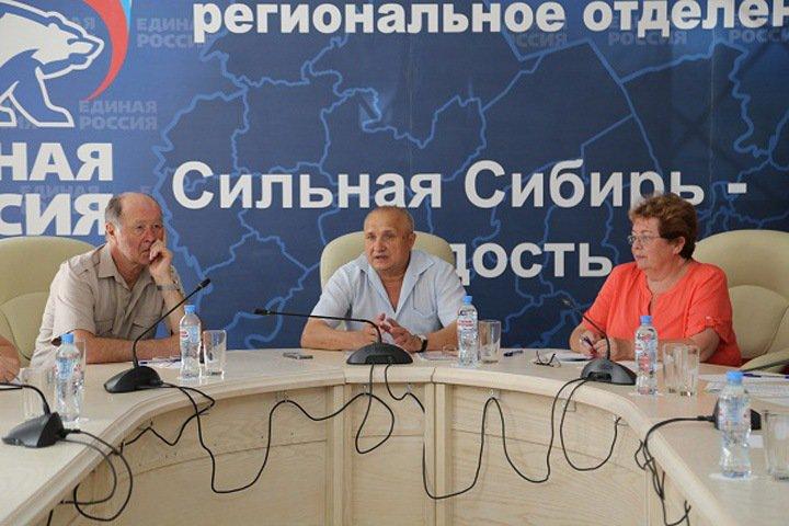 «ЕР» и КПРФ поддержат кандидатуру Мамулата на пост новосибирского бизнес-омбудсмена
