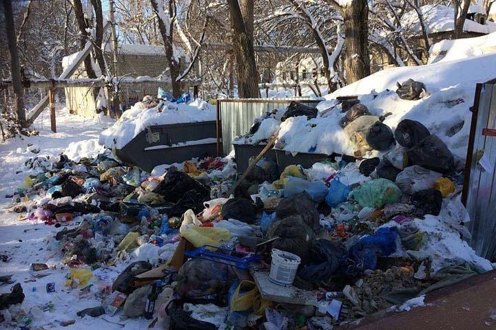 Красноярский мусорный регоператор объяснил проблемы в работе большим количеством отходов