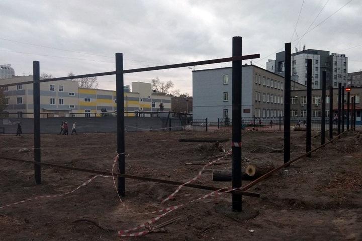 Суд отменил запрет на строительство возле новосибирского лицея №22