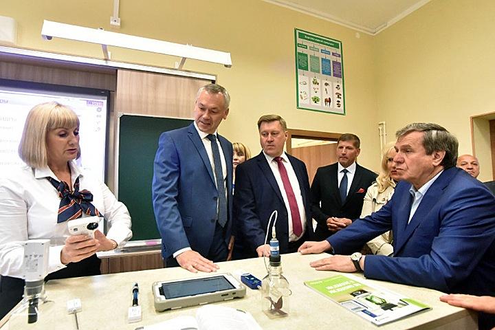 Новосибирский губернатор подтвердил поддержку Локтя на выборах мэра