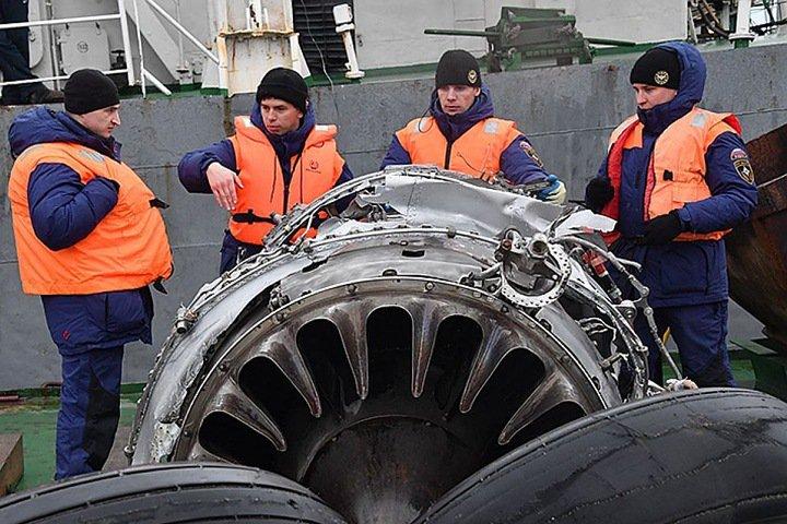 Кемеровский суд взыскал деньги с Минобороны за авиакатастрофу Ту-154 в Черном море