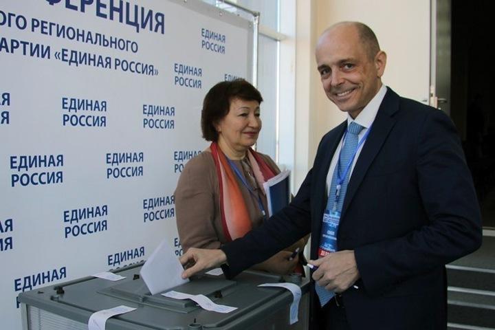Новый лидер иркутских единороссов приехал к Меняйло