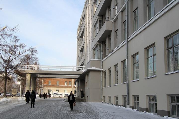 Новосибирское правительство обновит фасад за 4,7 млн рублей