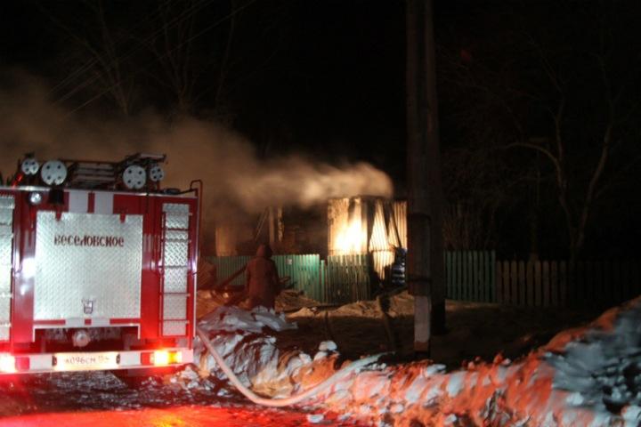 Новосибирский СК завел дело после гибели женщины и четырех детей при пожаре