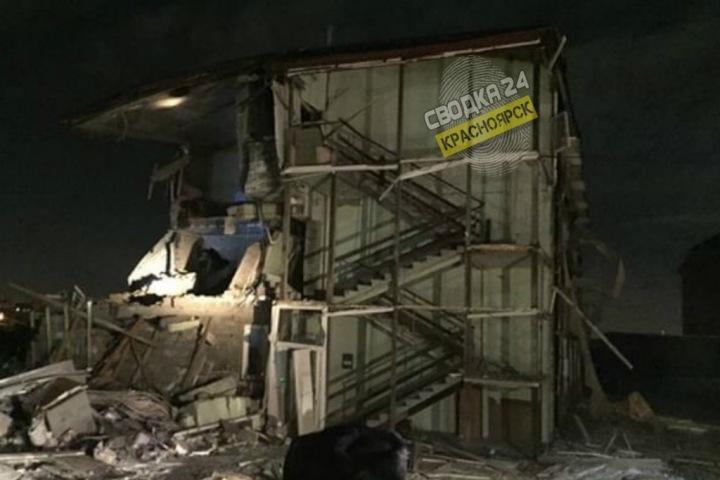 Красноярский СК завел дело после взрыва в жилом доме