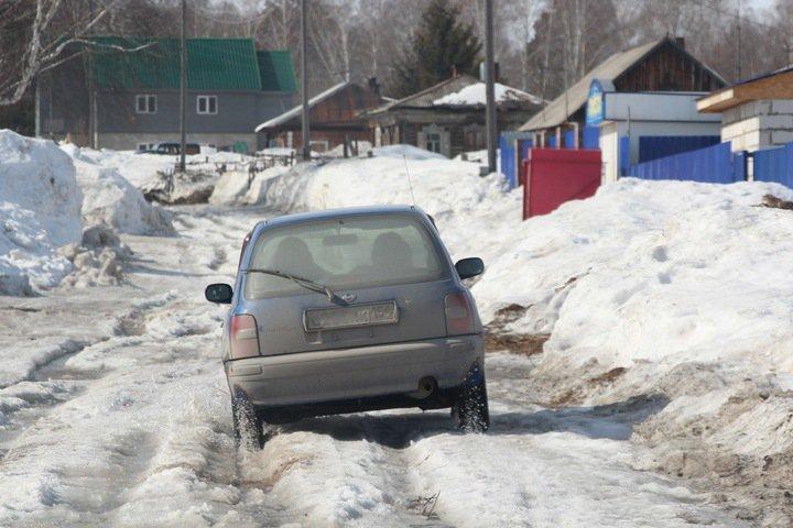 Протяженность отремонтированных дорог в Новосибирской области превысит ширину региона