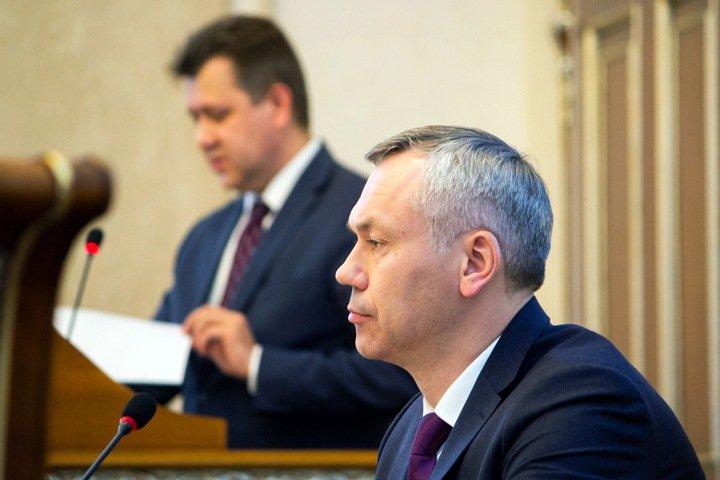 Травников: письмо членов «ЕР» об участии в выборах мэра Новосибирска не обсуждалось