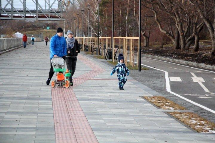 Федеральный бюджет отправит Новосибирской области 5 млрд на благоустройство