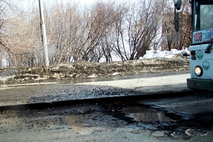 ФАС приостановила конкурсы на ремонт дорог Новосибирска