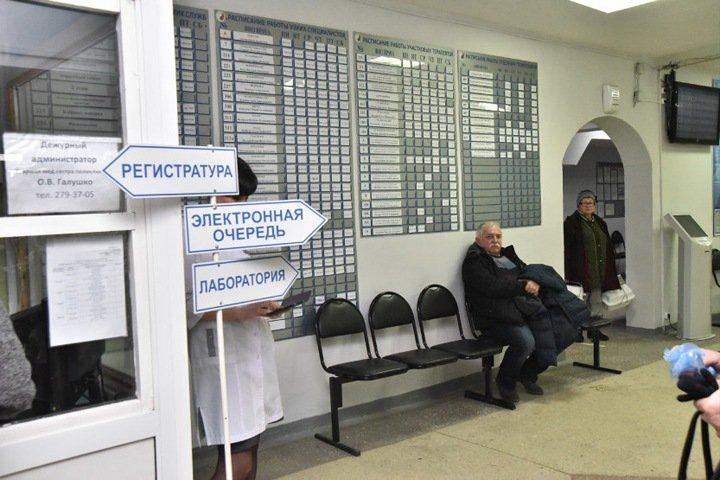 Минздрав внепланово проверил очереди в новосибирских поликлиниках