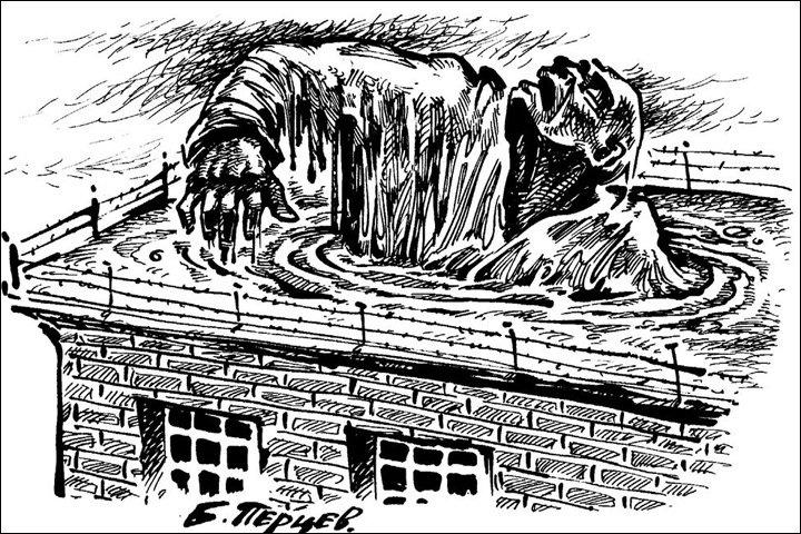 Выставка политической карикатуры открылась в томской следственной тюрьме НКВД