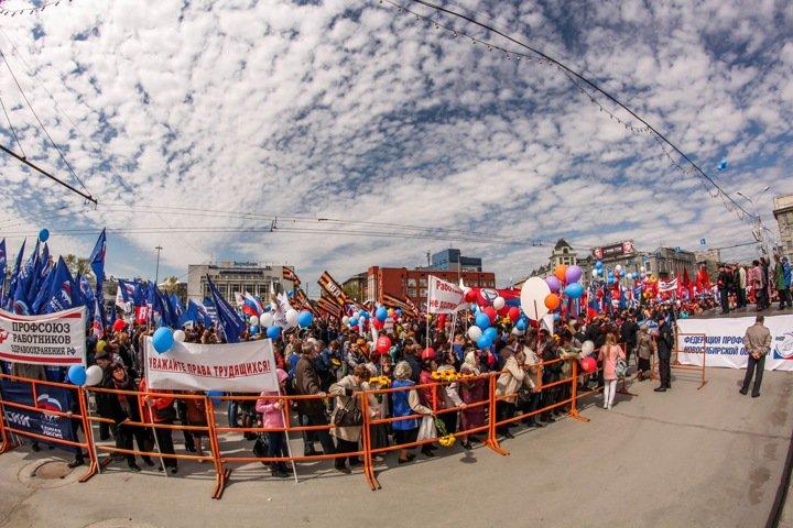 Новосибирские коммунисты и единороссы пройдут рядом 1 мая