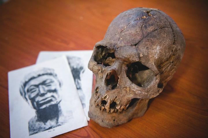 Фото дня. Как антропологи изучают внешность древних жителей Алтая
