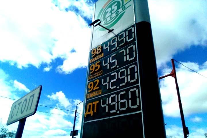 Бензин в Красноярске подорожал во второй раз за две недели