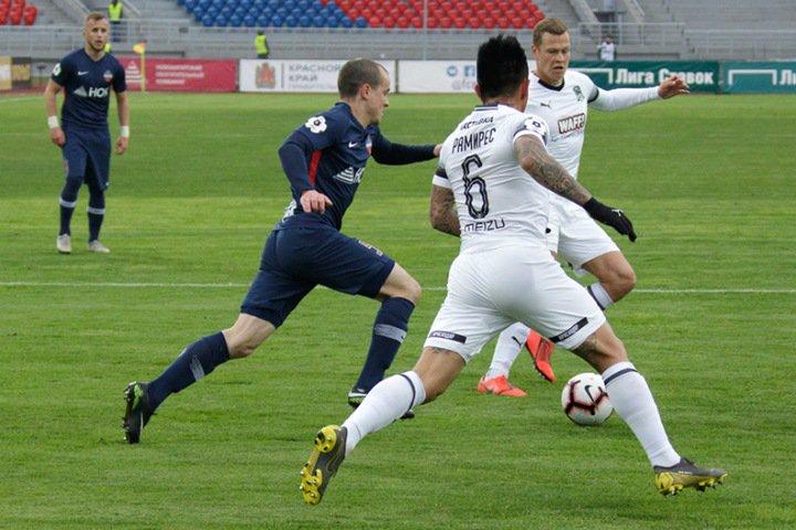 ФК «Енисей» вылетел из элитного футбольного дивизиона