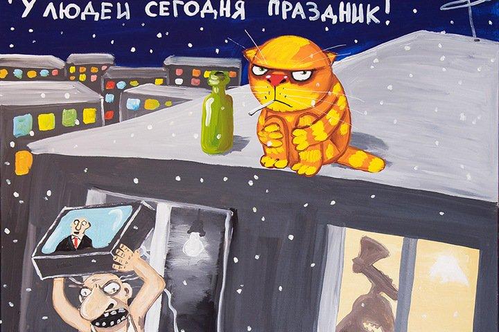 Автор «Великой прекрасной России» проведет первую выставку в Новосибирске