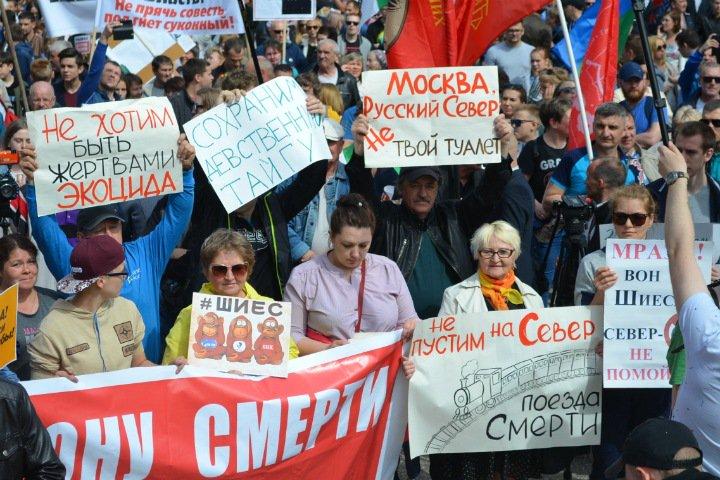 Почему протесты Севера и Екатеринбурга оказались сильнее митингов против пенсионной реформы