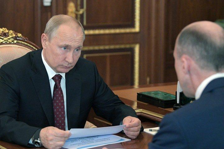 Хорохордин рассказал Путину о «качественной траве»