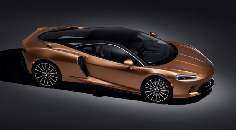 McLaren GT: суперкар на каждый день с большим багажником