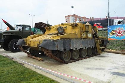 Найден «танк ядерного апокалипсиса»