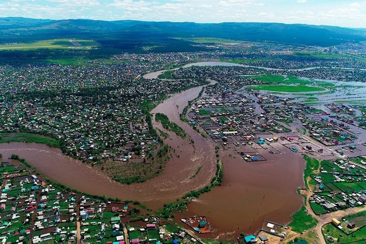 Забайкалью выделили 315 млн на восстановление дорог после паводка 2018 года