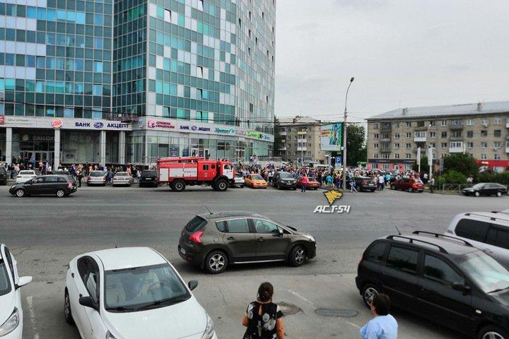 МФК «Сан Сити» эвакуирован в Новосибирске