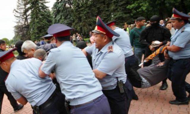 Антиправительственные митинги в Казахстане, задержано 57 человек