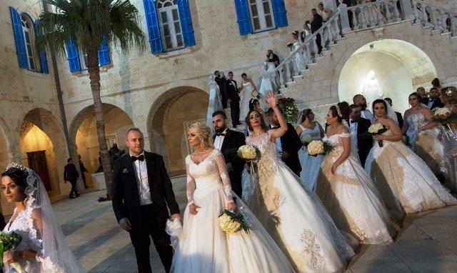 Массовый свадебный бум в Ливане