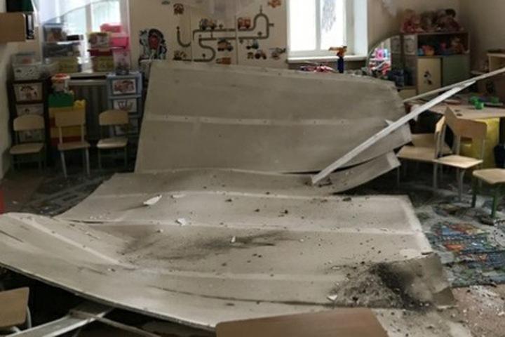 Потолок обвалился в одном из детских садов Читы