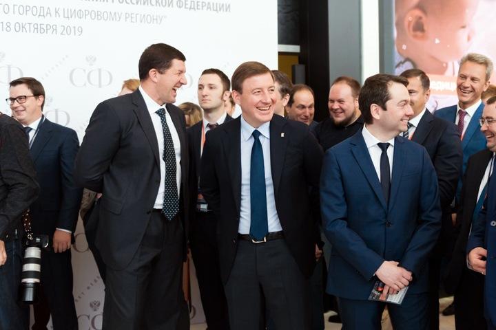 Сделанный новосибирскими чиновникам «робот Николай» выступил перед Турчаком