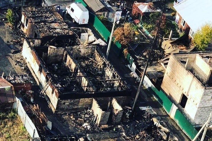 Центр помощи многодетным и одиноким матерям сгорел в Новосибирске