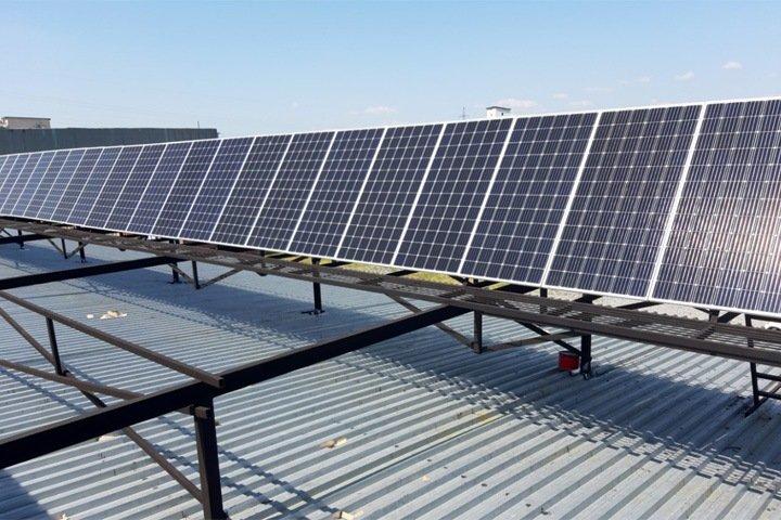 Солнечная станция позволит экономить миллион в год торговой компании из Читы