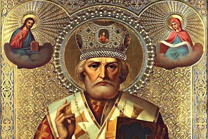Омский аэропорт купил икону святого Николая