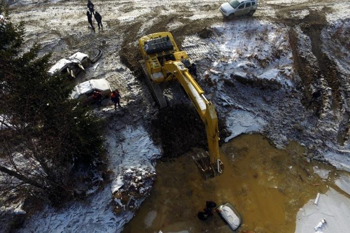 Росприроднадзор потребовал лишить лицензии красноярских золотодобытчиков после прорыва дамб