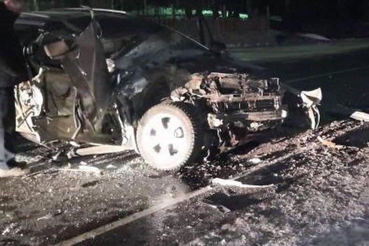 Мэр Тулуна пострадал в ДТП, его супруга погибла